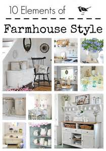What Is Your Home Decor Style 10 Elements Of Farmhouse Style Town Amp Country Living