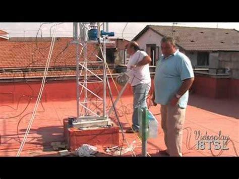 tralicci angelucci montaggio traliccio ed antenne 3 parte