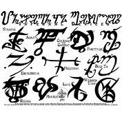 Tattoo Runes Ii By Far Eviler Designs Interfaces Design As