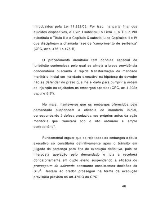 Rkl artigo lei 11.232 comentada