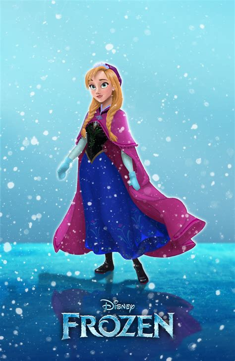 anna s anna frozen fan art 33433661 fanpop