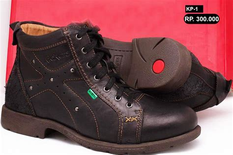 Sepatu Boot Kicker sepatu boots kulit pria kickers images