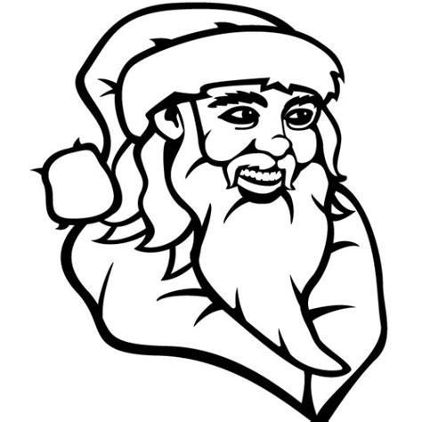 Imagenes De Santa Claus En Blanco Y Negro | dibujo de santa claus en blanco y negro descargar