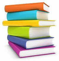 Colourful Book Stack