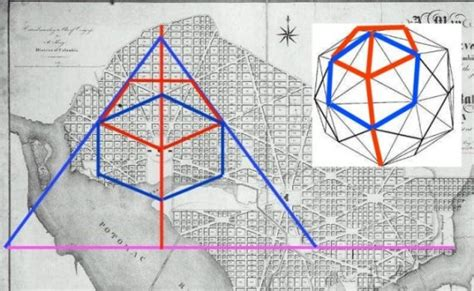 washington dc map masonic i april 2011