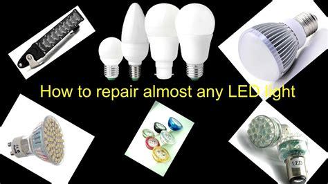 how to fix broken lights how to repair fix broken led light bulb