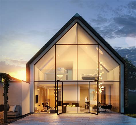 architecture visualization 3d architectural visualization of small house in the