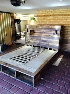 Bed Designs With Headboard Storage » Home Design 2017