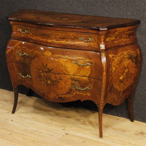 Commode Italienne by Commode Italienne Incrust 233 E De Style Louis Xv