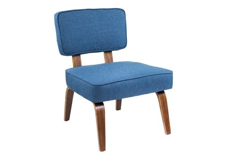 mid century modern accent chair nunzio mid century modern accent chair in navy blue by