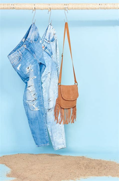 wild  heart distressed jeans bag wild hearts