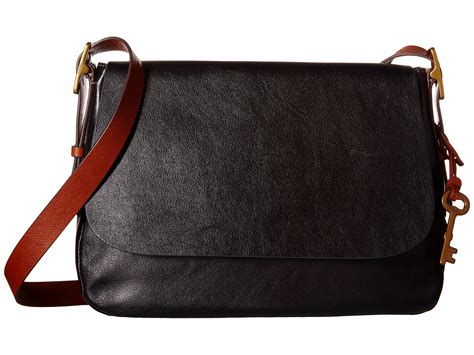 Fossil Large Crossbody fossil large saddle crossbody at zappos