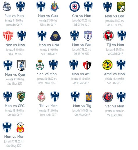 Calendario Clausura 2016 Liga Mx Tigres Calendario De Tigres Clausura 2016 Apexwallpapers