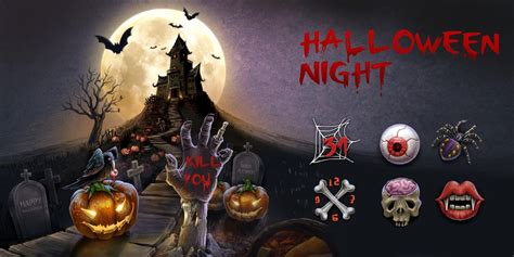 halloween night themes halloween night go theme android apps on google play