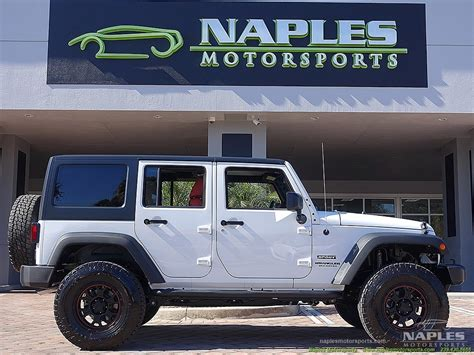 jeep wrangler for sale naples fl used 2015 jeep wrangler unlimited sport for sale in naples