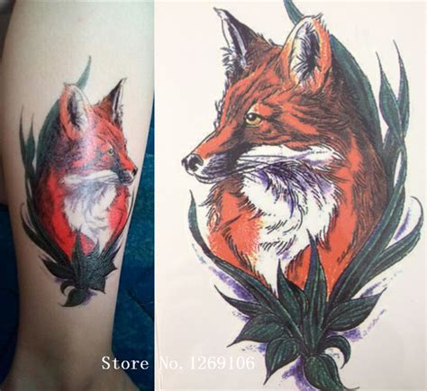 Lc573 Wolf Tatto Stiker Temporer 602 best images on mods