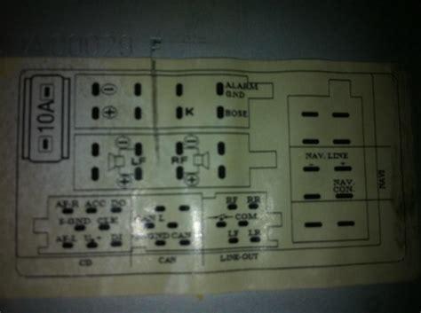 audi symphony ii radio wiring diagram audi trailer wiring