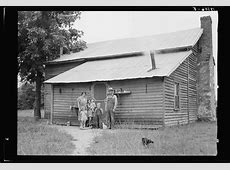 Secondat: sharecropper families of the 1930s Sharecropping House