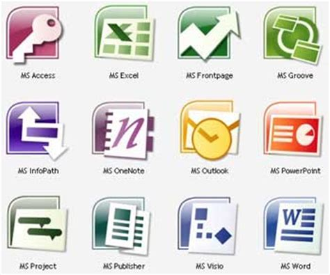 Microsoft Office Softwares 191 Qu 233 Es Software De Aplicaci 243 N Definici 243 N Y Tipos