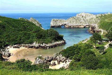 spanish nature of photographs 0714865702 photos spain cantabria sea nature cove coast horizon