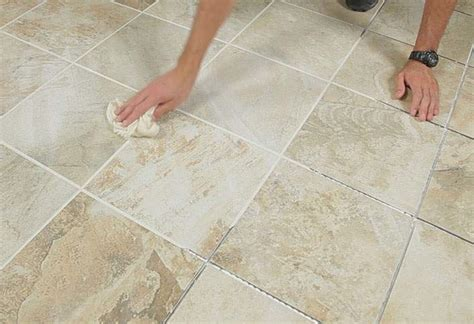 grouting guide at the home depot
