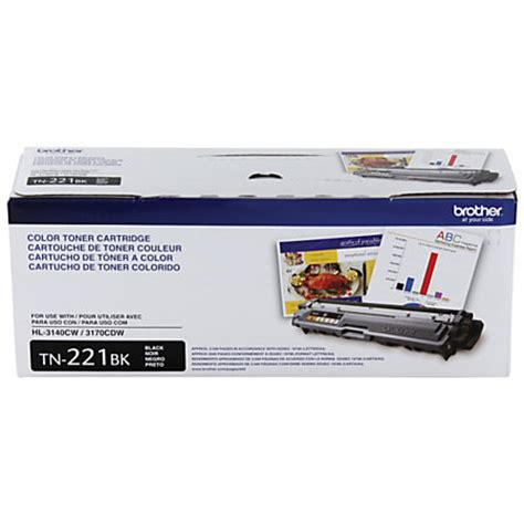 brother tn820 black toner cartridge by office depot brother tn 221bk black toner cartridge by office depot
