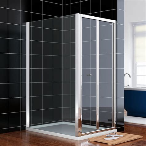Shower Doors 900mm Crown 900mm Bifold Shower Door