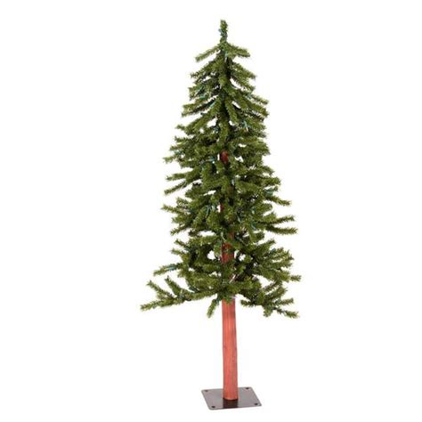 vickerman 00111 4 natural alpine christmas tree