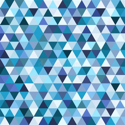 mosaic pattern triangle geometric mosaic pattern from blue triangle stock image