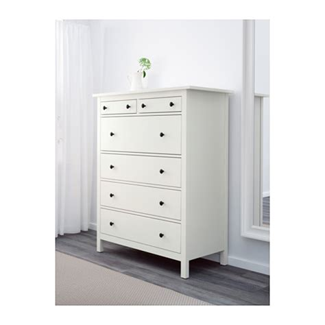 comodini ikea hemnes hemnes chest of 6 drawers white 108x130 cm ikea