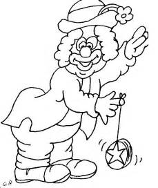 clown colors free printable clown coloring pages for
