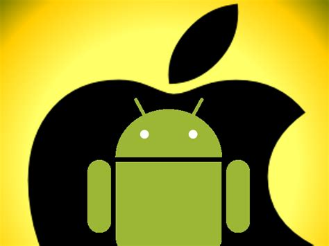 apple on android apple y android el androide libre