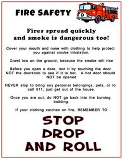 boat safety handout 1000 images about safety on pinterest fire safety