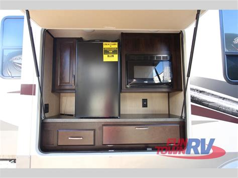 rv with outdoor kitchen fifth wheel rvs with outdoor kitchens bring the