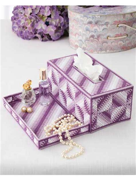 Big Tissue Organizer Kanvas I vanity tray