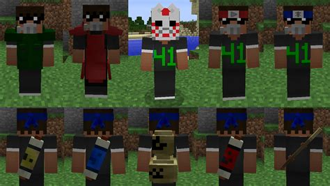 game mod naruto java naruto mod v0 4 1 minecraft mods mapping and modding