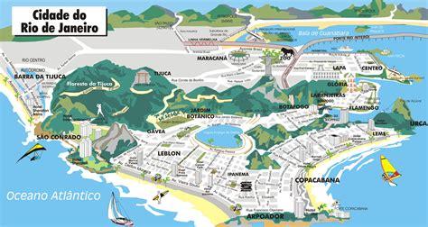 de janeiro map de janeiro brazil map collection