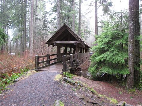 Silver Creek Falls Cabins by Silver Falls State Park Flickr Photo