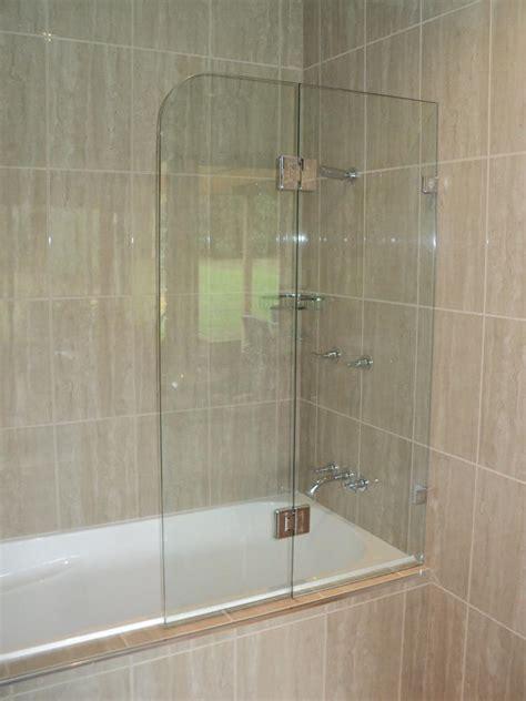 bathtub screen shower enclosures frameless white plains glass mirror