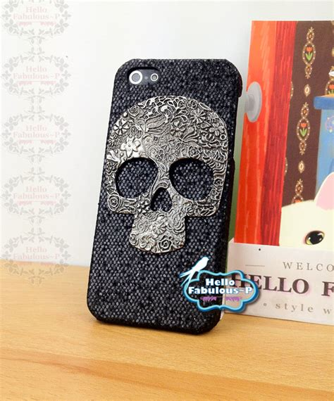 Skull Cove Hardcase Iphone 4 skull iphone 5 personalized cover skull cell