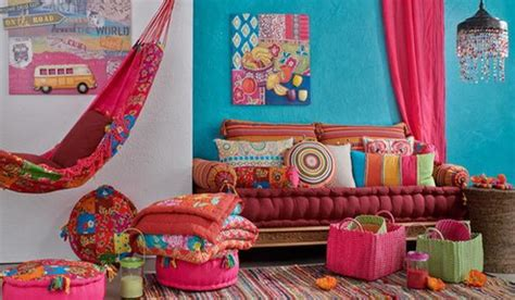 how to use bright colors to decorate the home interior bright blue and pink color combination for festive spring