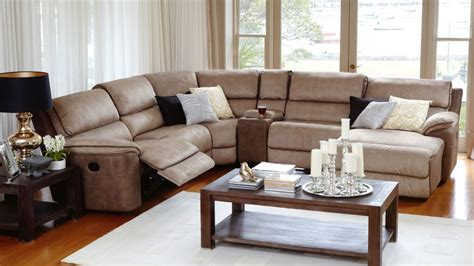 Recliner Modular Lounge Suites by Bourbon Modular Lounge Suite With Recliner And Chaise