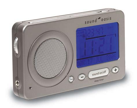 sound oasis s 850 travel white noise alarm clock desktop white noise machines