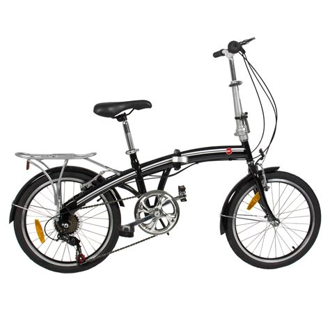 folding bike  shimano  speed bike fold storage black