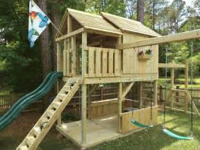 backyard playground hand crafted wooden playsets amp swing sets gallery