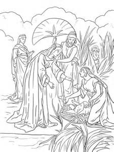 coloring pages moses killing egyptian moses kills egyptian coloring page coloring pages