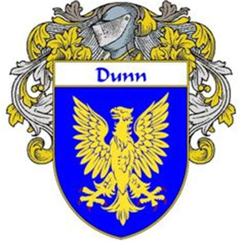 dunn family crest coat of arms coat of arms gifts dunn