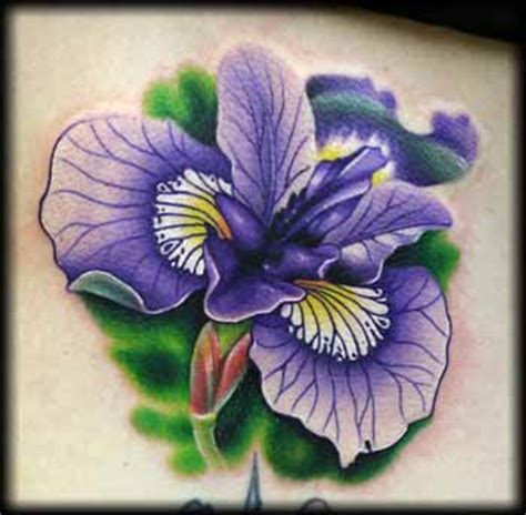 tattoo iris flower designs iris flower tattoos