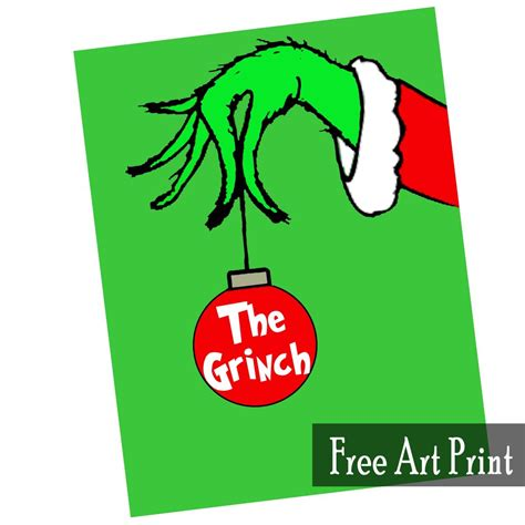 printable grinch bookmarks the grinch free art printable for christmas printables 4 mom