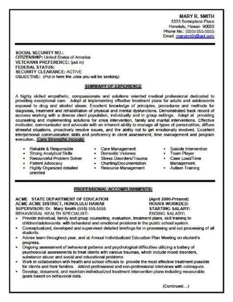 Federal Ses Resume Templates by Cheapest Essay Writers Social Work Essay Sle Ksa